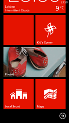 HTC Windows Phone 8X - Getting started - Personalising your Start screen - Step 5