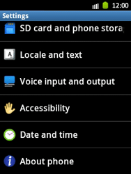 Samsung Galaxy Pocket - Software - Installing software updates - Step 5