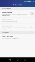 Huawei Y6 - Device - Factory reset - Step 5