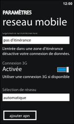 HTC 7 Trophy - Internet - configuration manuelle - Étape 5