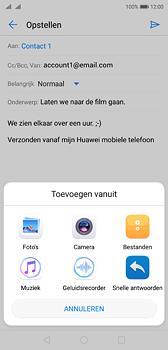 Huawei P20 - e-mail - hoe te versturen - stap 10