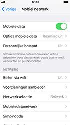 Apple iPhone SE - iOS 12 - netwerk en bereik - gebruik in binnen- en buitenland - stap 5