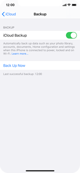 Apple iPhone 11 Pro - Data - Create a backup with your account - Step 14