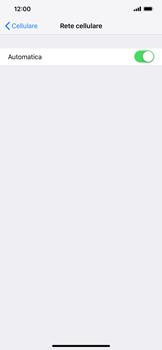 Apple iPhone XS Max - Rete - Selezione manuale della rete - Fase 5