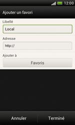 HTC Desire X - Internet et roaming de données - Navigation sur Internet - Étape 11