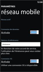 Nokia Lumia 710 - Internet - Utilisation à l