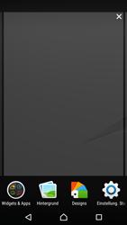 Sony Xperia Z5 Compact - Startanleitung - Installieren von Widgets und Apps auf der Startseite - Schritt 4