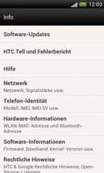 HTC Desire X - Software - Installieren von Software-Updates - Schritt 8