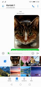 Huawei P20 Lite - MMS - Erstellen und senden - 0 / 0