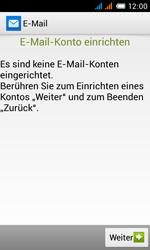 Alcatel Pop C3 - E-Mail - Konto einrichten - 6 / 25
