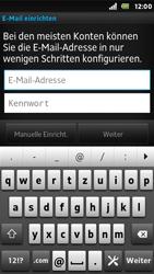 Sony Xperia U - E-Mail - Konto einrichten - 1 / 1
