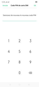 Oppo A9 2020 - Sécuriser votre mobile - Personnaliser le code PIN de votre carte SIM - Étape 13
