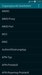 Samsung Galaxy Alpha - MMS - Manuelle Konfiguration - 11 / 19