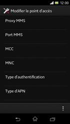 Sony C1905 Xperia M - Internet - configuration manuelle - Étape 14
