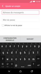 HTC Desire EYE - E-mail - Configuration manuelle - Étape 6