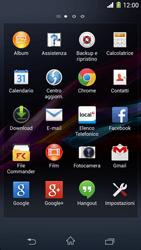 Sony Xperia Z1 - WiFi - Configurazione WiFi - Fase 3