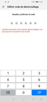 Huawei Y6 (2019) - Sécurité - activéz le code PIN de l'appareil - Étape 7