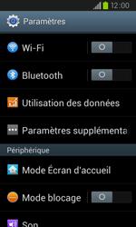 Samsung I9105P Galaxy S II Plus - Wifi - configuration manuelle - Étape 3