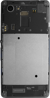 Sony D2203 Xperia E3 - SIM-Karte - Einlegen - Schritt 3