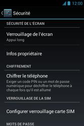 Bouygues Telecom Bs 351 - Sécuriser votre mobile - Personnaliser le code PIN de votre carte SIM - Étape 5