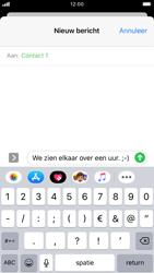 Apple iPhone 6s - iOS 13 - MMS - afbeeldingen verzenden - Stap 9