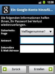 Samsung Galaxy Y - Apps - Konto anlegen und einrichten - 12 / 21