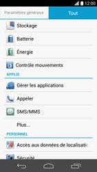 Huawei Ascend P6 - Applications - Comment désinstaller une application - Étape 4
