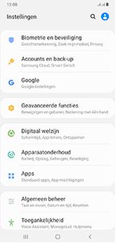 Samsung Galaxy A10 - toestel resetten - back-up maken met jouw account - stap 6