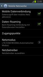 Samsung Galaxy S III LTE - Internet und Datenroaming - Deaktivieren von Datenroaming - Schritt 6
