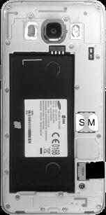 Samsung J510 Galaxy J5 (2016) - SIM-Karte - Einlegen - Schritt 4