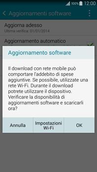Samsung Galaxy Note 4 - Software - Installazione degli aggiornamenti software - Fase 8