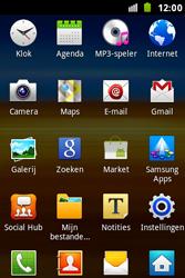 Samsung S7500 Galaxy Ace Plus - Internet - Hoe te internetten - Stap 2