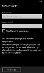 Nokia Lumia 635 - E-mail - Account instellen (POP3 zonder SMTP-verificatie) - Stap 8