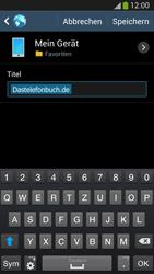 Samsung Galaxy S 4 LTE - Internet und Datenroaming - Verwenden des Internets - Schritt 13