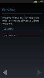 Samsung Galaxy S III LTE - Apps - Einrichten des App Stores - Schritt 5
