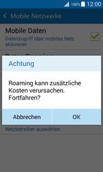 Samsung Galaxy Xcover 3 - Ausland - Im Ausland surfen – Datenroaming - 9 / 12