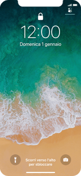 Apple iPhone X - Dispositivo - Come eseguire un soft reset - Fase 4