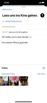 Apple iPhone XS Max - iOS 13 - E-Mail - E-Mail versenden - Schritt 11