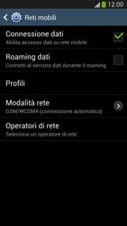 Samsung Galaxy S 4 LTE - Internet e roaming dati - Disattivazione del roaming dati - Fase 7