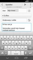 Huawei Ascend P7 - E-mail - e-mail versturen - Stap 9