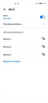 Huawei P40 - Internet et connexion - Accéder au réseau Wi-Fi - Étape 5