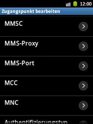 Samsung Galaxy Pocket - MMS - Manuelle Konfiguration - Schritt 12