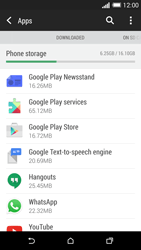 HTC One M8 - Applications - How to uninstall an app - Step 5