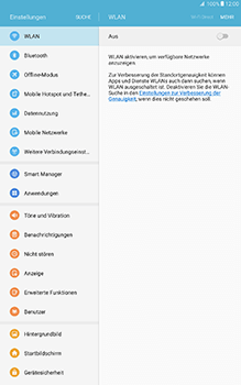 Samsung Galaxy Tab A 10.1 - Bluetooth - Geräte koppeln - 6 / 11