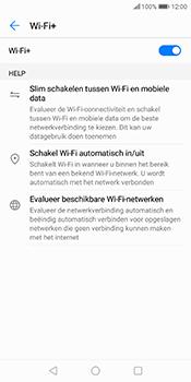 Huawei P Smart - wifi - schakel Wi-Fi Assistentie uit - stap 9