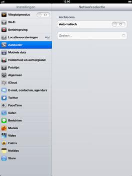 Apple The New iPad - Bellen - in het buitenland - Stap 5