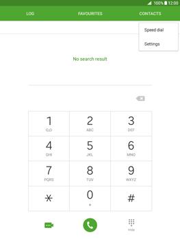 Samsung Galaxy Tab A 9.7 - Voicemail - Manual configuration - Step 5