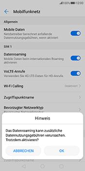 Huawei Mate 10 Pro - Ausland - Im Ausland surfen – Datenroaming - 1 / 1