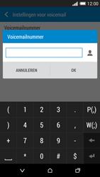HTC One M8s (Model 0PKV100) - Voicemail - Handmatig instellen - Stap 7