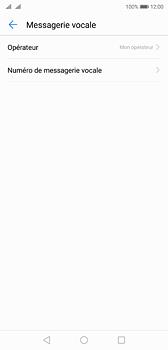 Huawei P20 - Messagerie vocale - Configuration manuelle - Étape 7